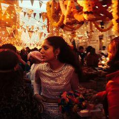 noor fares at her pre-wedding party