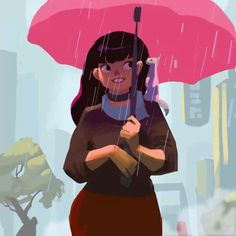 Happy Holidays, everyone! Stay warm and thanks for the 6k followers! #rain #umbrella