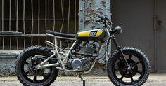 Yamaha SR500 1978 By Powder Monkees