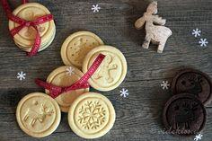 Weihnachtsplätzchen mit Keksstempel Christmas Cookie Stamps