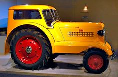 """'38 Minneapolis Moline UDLX """"Comfortractor"""". Designed for the farmer who didn't want, or couldn't afford, a car and a tractor. Work Monday thru Saturday in the field, then load up the family and head to church Sunday. Many of the 38 (I believe, maybe it was 138) ended up as mail cars for rural mail carriers."""
