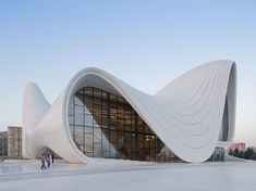 Zaha Hadid design new cultural centre in Baku Azerbaijan
