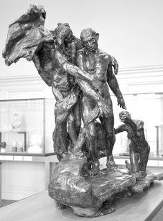 L'âge mûr vers 1890 par Camille CLAUDEL (1864-1943). Bronze n°1. Musée Rodin, Paris. Photo : Hervé Leyrit