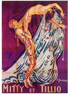"Germaine Mitty and M Tillio. The Ziegfeld Follies of 1921. The New York Times hailed the show's ""good comedy"" and stressing its ""remarkable dancing."" Theatre Magazine mentioned the show's many excellent dancers and the wide variety of dance genres featured. Both reviewers sang the praises of Mitti and Tillio, dancers imported from the Follies Bergeres, Paris."