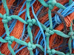 detail.  'fishing-net' On Black     #fishing  Click the on the pic for more info.  http://www.bamboonets.com