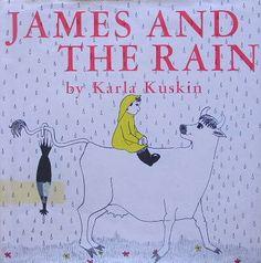 JAMES AND THE RAIN :Karla Kuskin http://twin-rabbit.shop-pro.jp/?pid=88084310