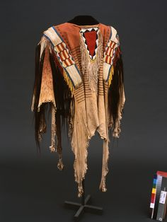 Northern Plains Indians shirt, circa 1850, one of the unique items from the Paul Dyck Plains Indian Buffalo Culture Collection