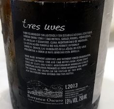 Tres Uves  Barranco Oscuro
