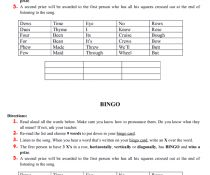 Song Worksheet: We Are the Champions by Queen Bingo