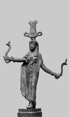Isis, Goddess of Kingship and Magic. 1st century BC (Greco-Roman).