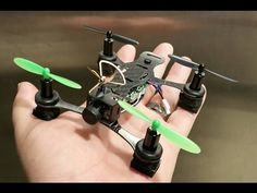 Follow APOLLO and help us change the drone world. Phoenix Flight Gear 110mm Carbon-H Micro Quadcopter - YouTube
