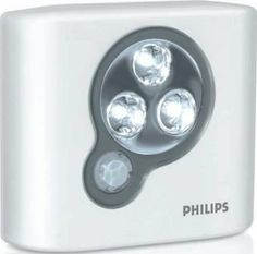 Philips SpotOn 21698-6 by Philips. $13.25. Get instant light anywhere with the portable SpotOn light from Philips. The motion-sensor technology, coupled with three energy efficient LEDs, will allow you to get light where you want it, when you want it.
