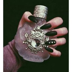 Hottest Pictures Beautiful Rock Indie Grunge Dark Nails Magic Nail Art Punk Matte Alternative Ideas For the decision to an Aesthetic-Plastic Surgery or so-called surgery treatment, there are many, spe Art Punk, Magick, Witchcraft, Wiccan, Yennefer Of Vengerberg, Magic Nails, Indie, Dark Nails, Long Nails