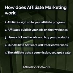 Start your own Affiliate Network, allow affiliates to promote your products and increase sales with AffiliationSoftware #affiliatemarketing #affiliate #onlinemarketing #marketingstrategy #entrepreneurship #entrepreneur #startup #ecommercebusiness #marketing #marketingdigital #digitalmarketing Affiliate Marketing, Online Marketing, Digital Marketing, E Commerce Business, Increase Sales, Growing Your Business, Entrepreneurship, Software, Ads