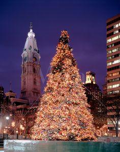 Philadelphia's Christmas Tree Lighting