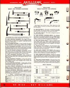 JH Williams Tool Catalog No. 401