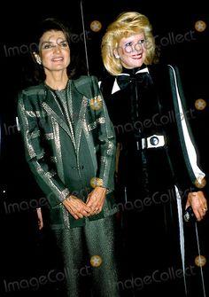 Jacqueline Kennedy Onassis and Ivana Trump