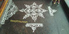 Rangoli Borders, Rangoli Border Designs, Rangoli Designs With Dots, Mehndi Art Designs, Beautiful Rangoli Designs, Kolam Designs, Housewarming Decorations, Diwali Decorations, Flower Decorations