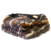 Found it at Wayfair - Red Fox Tail Faux Fur Acrylic Throw Blanket