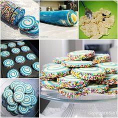 How to DIY Swirled Sugar Cookies