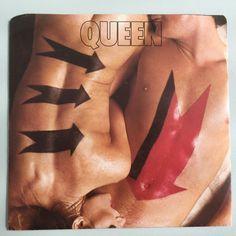Queen - Body Language - Canada - 1982 round top corners sleeve
