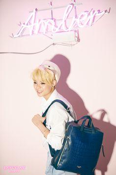 f(x) reveals new posters for Lovcat Paris - Latest K-pop News - K-pop News | Daily K Pop News