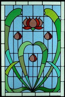 vitraux décoratifs | les vitraux art nouveau wall art décoration unique plaque d ...
