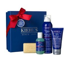 Kiehls- Mens Refueling Kit- $42 Essential mens grooming rescue for withstanding travel wear and changing climes.