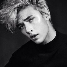 Read Lucky Blue Smith, Tell Me You Love Me. from the story Male Model Smut by znhlle (Talia Boo Timothy) with reads. Lucky Blue Smith, Pyper America Smith, Iron Man, Raining Men, Black And White Portraits, Jawline, Poses, Look At You, Male Face