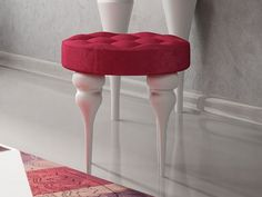Banquette laquée et garnie. Mod. DALIA Banquettes, Bar Stools, Decor, Turned Wood, Bar Stool Sports, Booth Seating, Counter Height Chairs, Banquet, Decorating