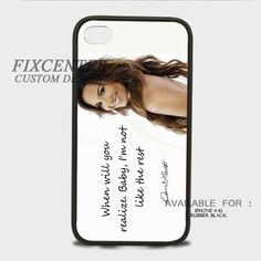 Demi Lovato - Give Your Heart A Break - iPhone 4/4S Case