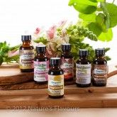 Natures Flavors Sample Pack of Organic Fragrance Oils (Oil Soluble)