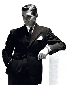 Clark Gable was once a regular at The Sportmsen's Lodge. #ClarkGable #oldhollywood