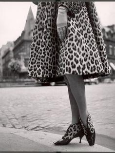 Dior cheetah print... pre Snooki
