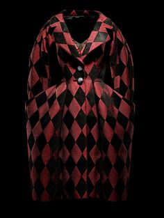 "1995 - Gianfranco Ferre 4 Christian Dior Couture - coat ""Arlequin 1880-1890""."