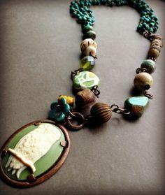 Field Notes necklace by Lorelei Eurto  #Vintaj