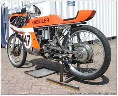 Kreidler racing Cafe Racing, Road Racing, Racing Bike, Bike Bmw, Cafe Bike, Course Moto, Classic Road Bike, Firestone Tires, Custom Trikes