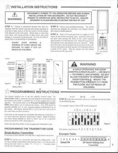 Chamberlain Garage Door Opener Manual Http Undhimmi