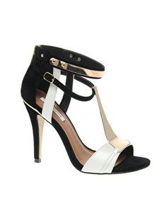 River Island Taffy T Bar Heels in Black/White. Recent shoe purchase. In love <3