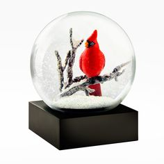 Singing Cardinal Snow Globe – CoolSnowGlobes                                                                                                                                                                                 More