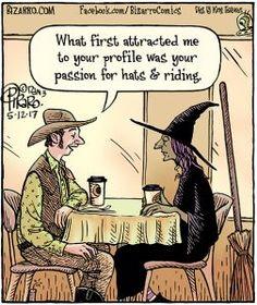 Halloween Vibes & Some Online Dating Humor Halloween Cartoons, Halloween Fun, Halloween Humor, Holidays Halloween, Vintage Halloween, Bizarro Comic, Funny Memes, Hilarious, Funny Quotes
