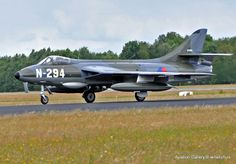 Hawker Hunter in RNLAF colours
