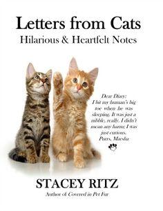 Ever Wondered What Your Cats Are Really Thinking? This book reveals all with hilarious & heartfelt letters :-)