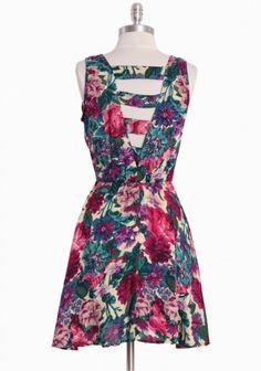 Mokihana Back Detail Dress $42.99