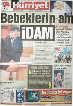 Hürriyet gazetesi 30 haziran 1999