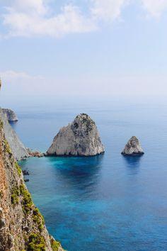 Keri Cliffs, Island of Zakynthos, Greece
