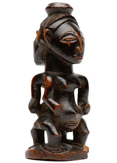 Native - A Hemba janus figure
