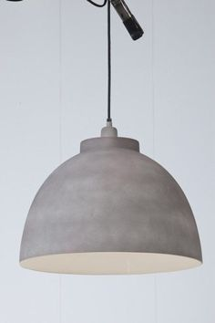 Hanglamp Kylie cement finish