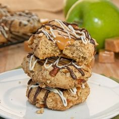 Caramel Apple Cookies {Sweet Pea's Kitchen}