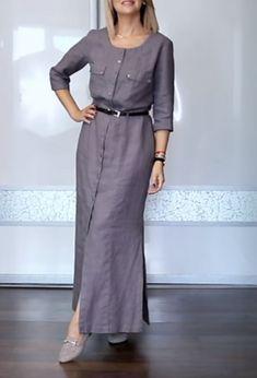 Идеальный базовый гардероб для дам в 40 на теплую осень (Мода и стиль) – Журнал Вдохновение Рукодельницы Dresses For Work, Sewing, Fashion, Fashion Blouses, Style, Moda, Dressmaking, Couture, Fashion Styles